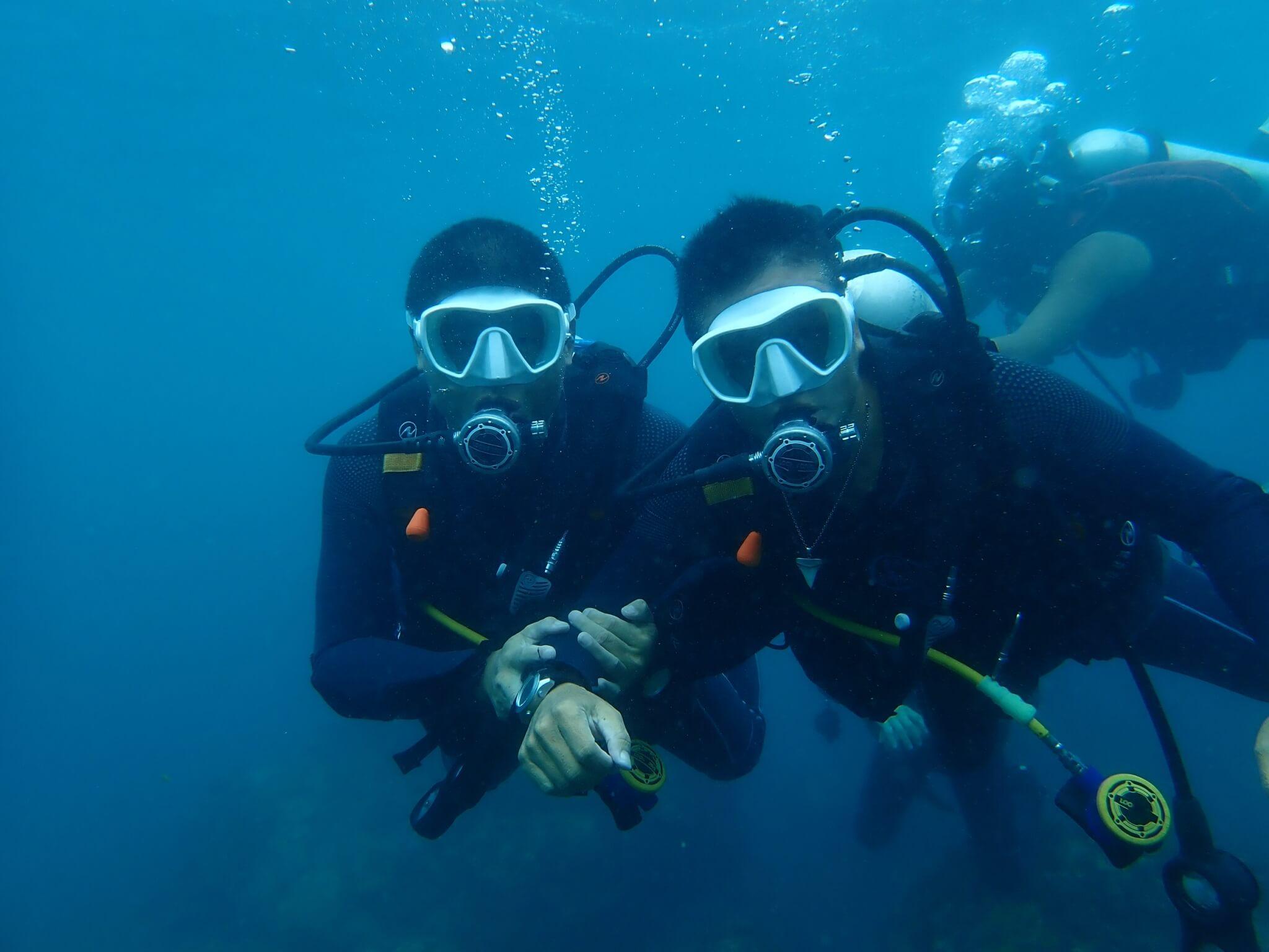 環保潛水隊培訓課程剪影