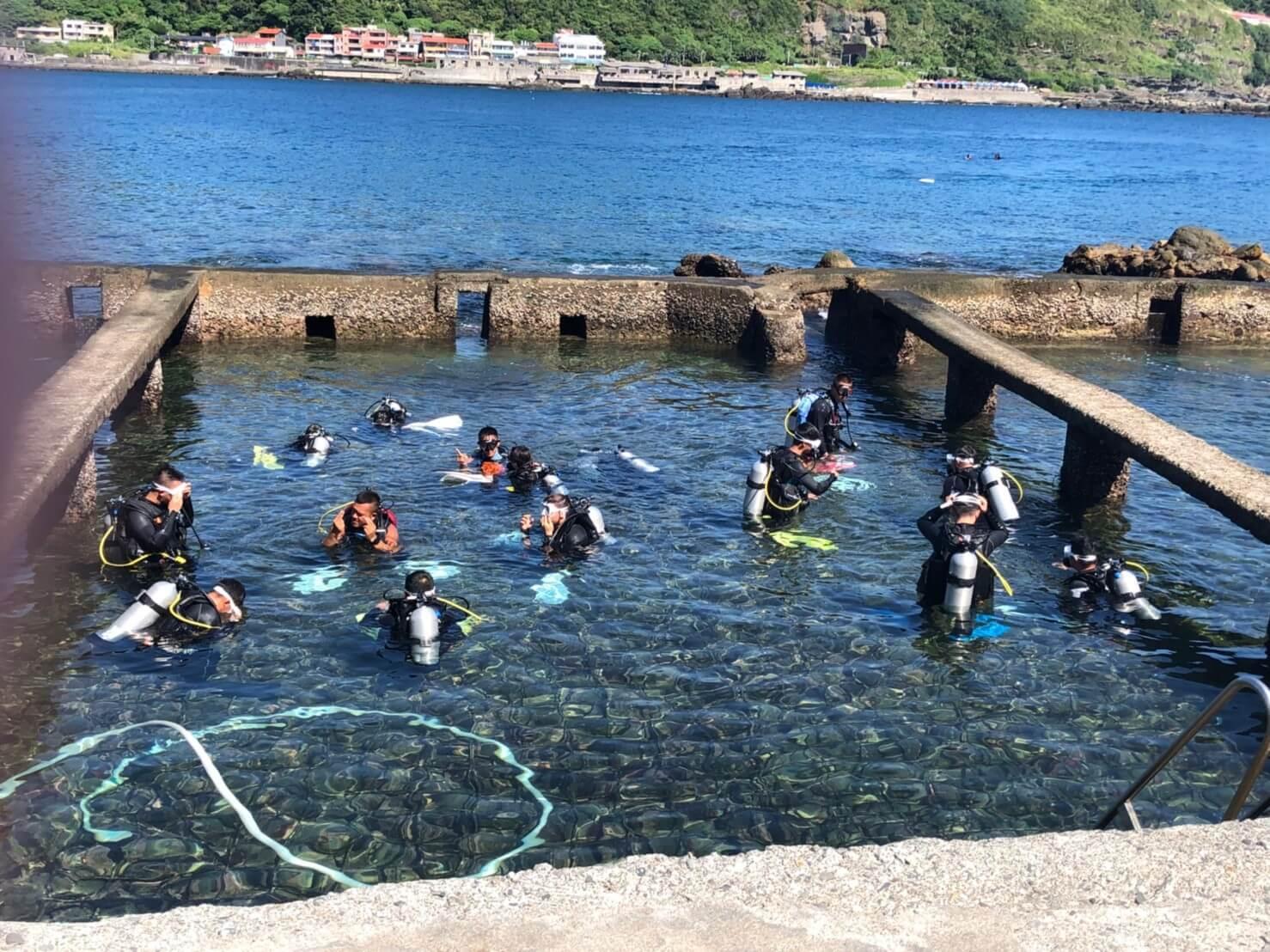 潛水志工淨海活動
