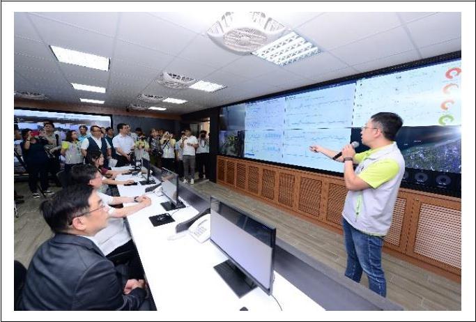 海岸環境監測科技中心」,具備環境品質預測及環境污染預警等兩大功能
