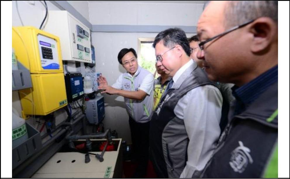 水質即時監測站,未來將以每年一座的速度進行設置
