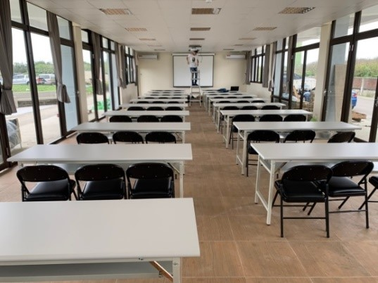 觀音濱海遊憩區一樓環境教育研習教室