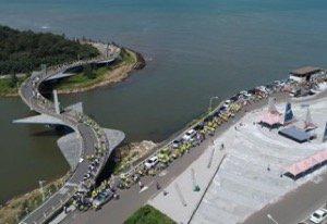 永安漁港南岸淨灘(空拍)