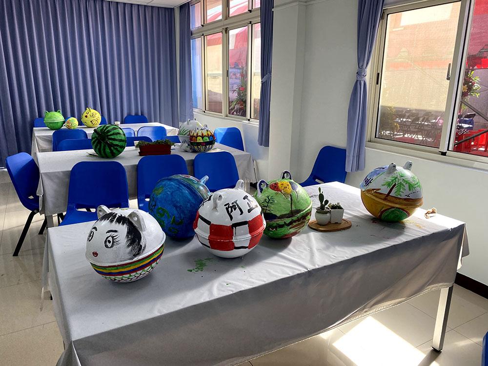 彩繪浮球DIY活動
