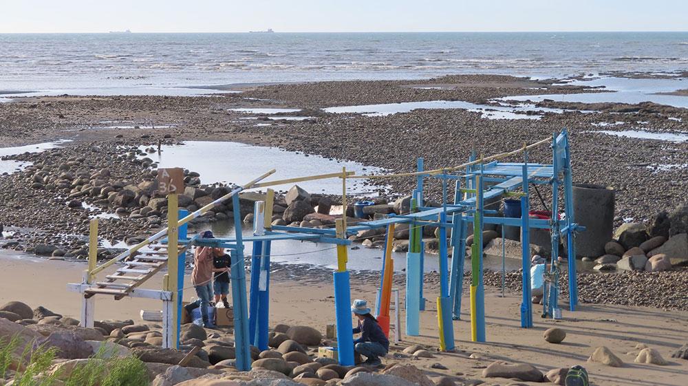漁業設施彩繪