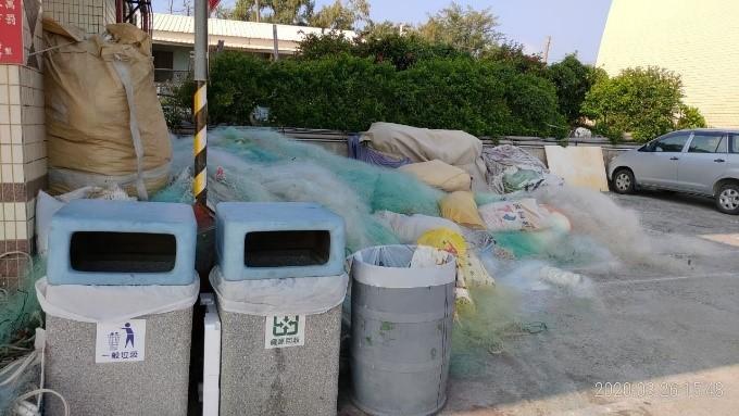 港區岸際清潔維護-待改善