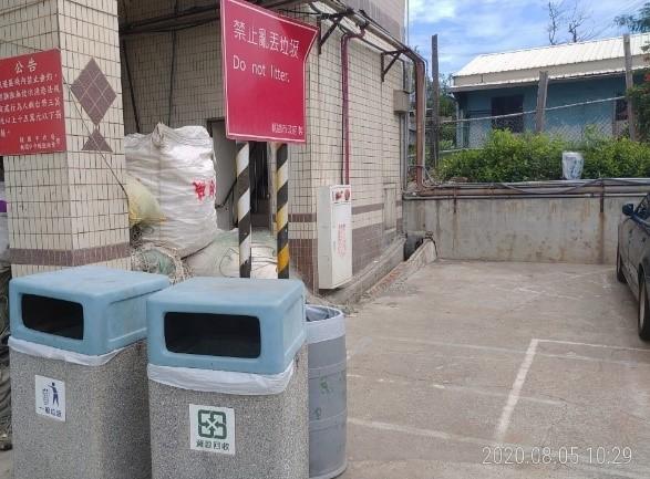 港區岸際清潔維護-已改善