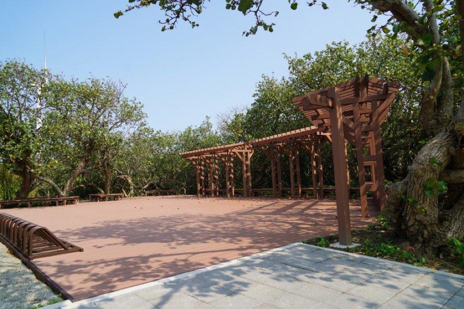 木棧道平台