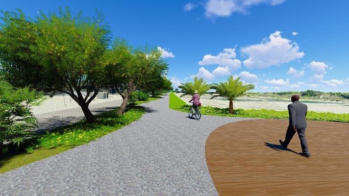 圖2 許厝港濕地公園及景觀步道新建工程