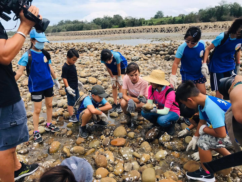 愛鄉協會石滬環境教育活動