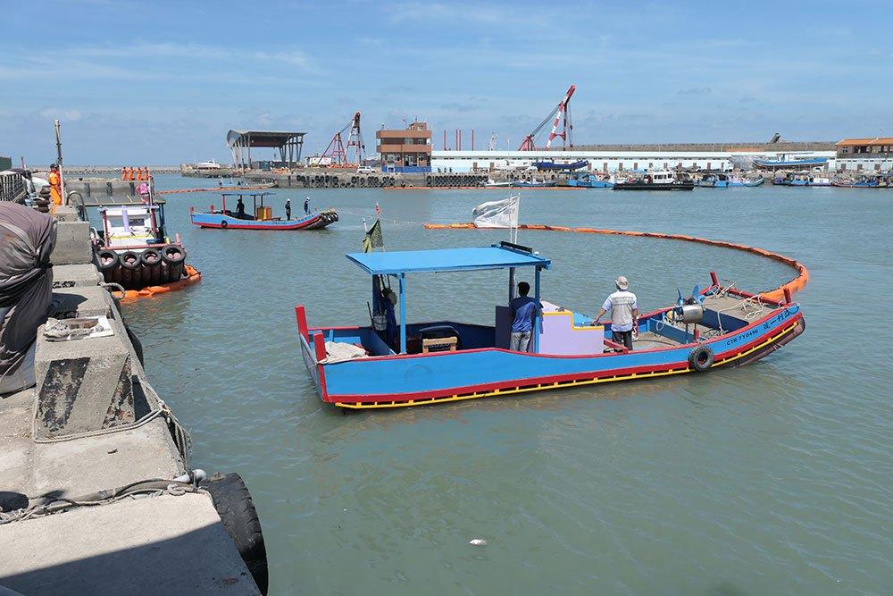 109年度港區船舶火災事故引致油污染緊急應變演練