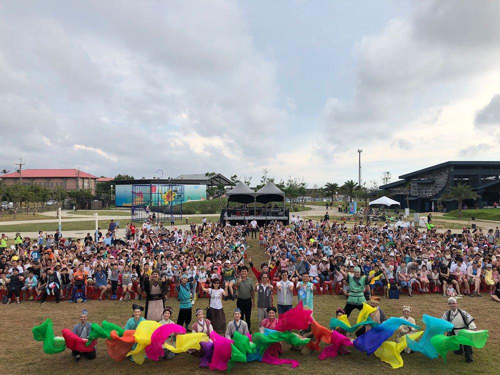 紙風車劇團「武松打虎」於新屋農博環境教育園區演出