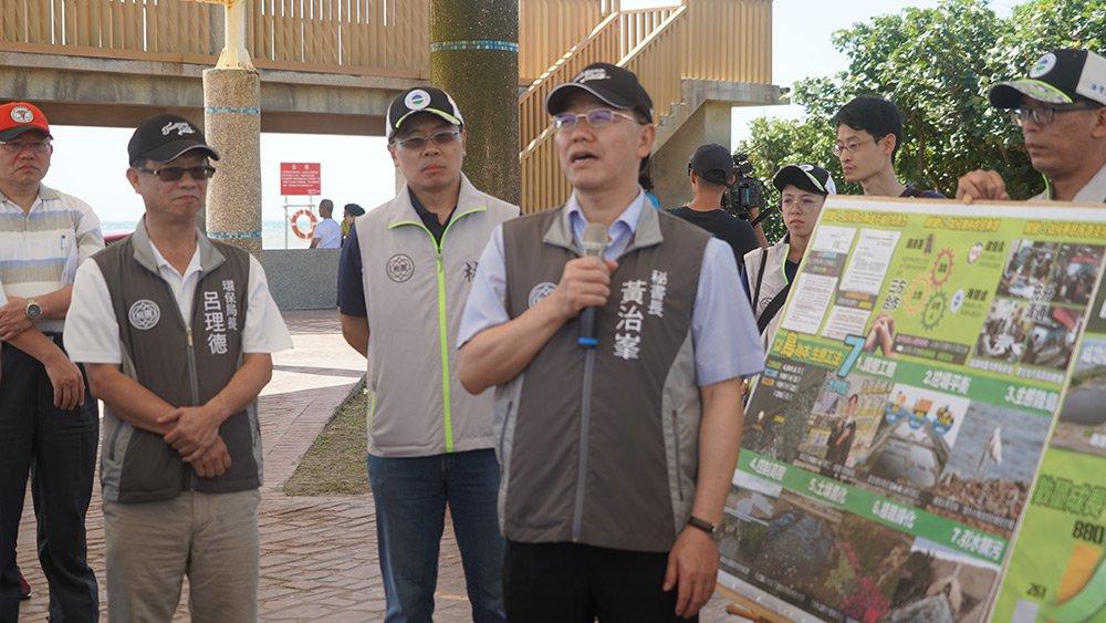照片-109年5月31日秘書長黃治峯走訪許厝港生態復育工程