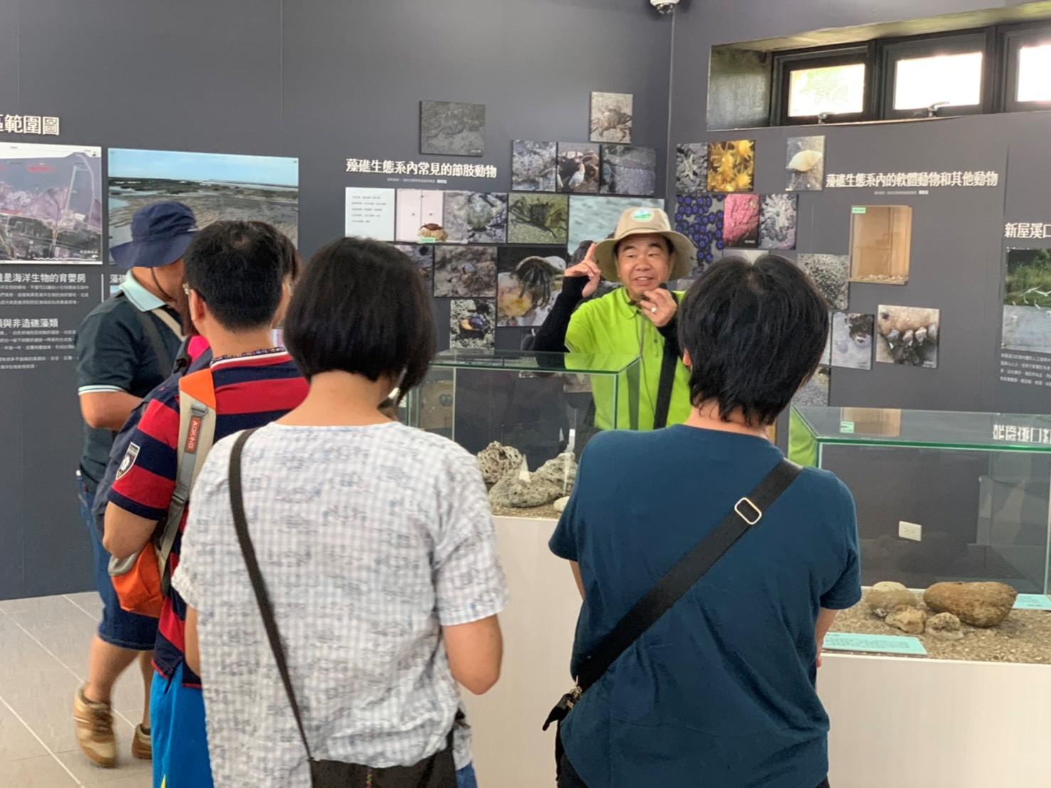 藻礁導覽解說服務,一起認識珍貴的藻礁生態